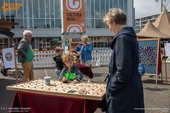 Houten spelen en een bijzondere workshop
