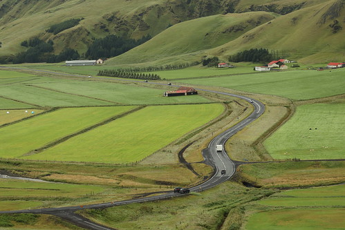routes in Iceland