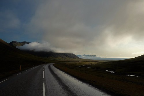route in Iceland