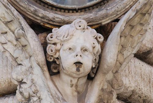 Edicola Sacra - Madonna con Bambino, Detail