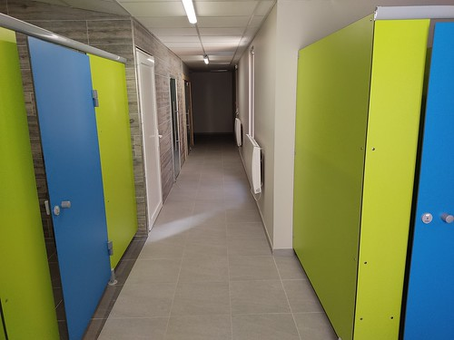 Couloir sauna-hammam