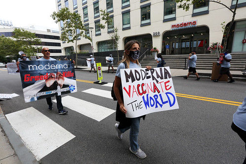 Vaccinate Our World – End Moderna Profiteering Demonstration