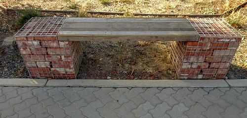 Brick Bench