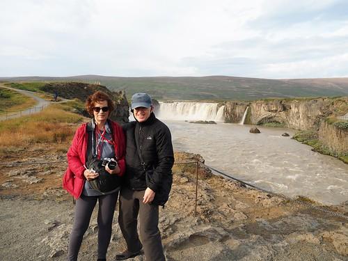 Visiting Goðafoss