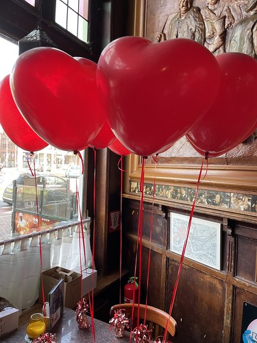 Heliumballonnen Hartballonnen Cafe de Oude Sluis Rotterdam
