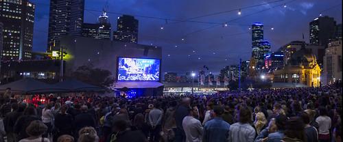 100th Show Federation Square 2014