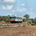 La Ad45 delle Ferrovie Sud Est affronta la curva in uscita da Zollino diretta a Gallipoli il 24.08.2021