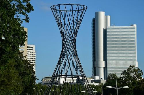 Munich - Mae West and HVB Tower