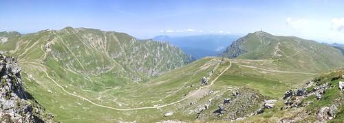 Omu and Coștila Peaks, Bucegi Mountains, Romania