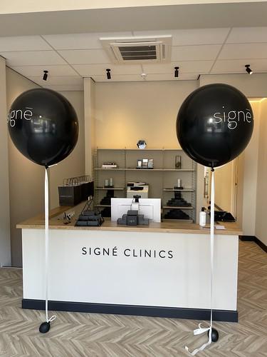 Cloudbuster Rond Bedrukt Signe Clinics Polikliniek de Blaak Rotterdam