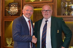 Mr Cyril Mings Captains Day Presentation