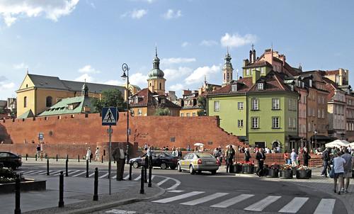 Warszawa - Mury obronne