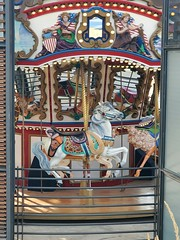 August 29, 2021 - The carousel at the Thornton Rec Center. (LE Worley)