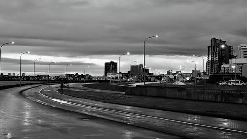 reikjavik by night