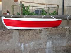 Half Boat Garden Planter #1