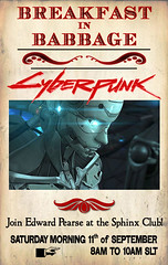 Breakfast in Babbage: Cyberpunk!