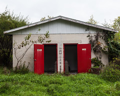 """Abandoned restrooms at the Irish Hills Fun Center • <a style=""""font-size:0.8em;"""" href=""""http://www.flickr.com/photos/25078342@N00/51425394586/"""" target=""""_blank"""">View on Flickr</a>"""