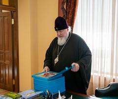 04 сентября 2021, Митрополит Кирилл встретился со студентами подготовительного отделения Ставропольской духовной семинарии
