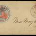 Civil War Patriotic Envelope - Eagle and Flag