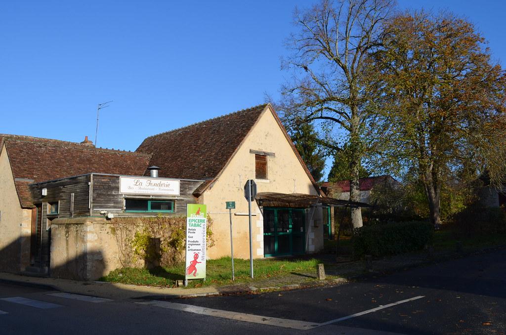 Bar-restaurant de Fontgombault