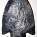 Flint-knapped arrowhead (Upper Mercer Flint, Middle Pennsylvanian; Nellie-Warsaw area, Ohio, USA) 2