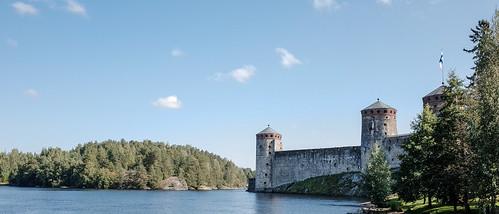 Olavinlinna towers