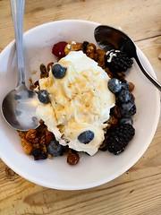 Photo of Breakfast For Two! Granola, Honey, Yoghurt and Berries!