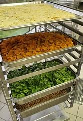Eté 2021 - les légumes prêts à cuisiner - cuisine centrale