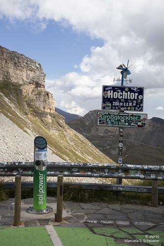 Charging station at 2504 m!