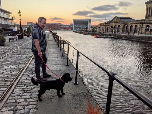 Duncan and Dexter, Leith Docks, August 2021