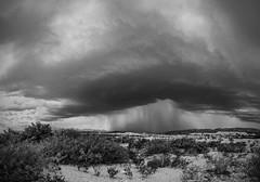 Storm in Terlingua, Texas