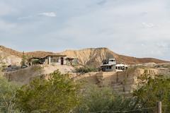 Houses above Terlingua Creek, Terlingua Texas