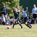 U13 girls competing