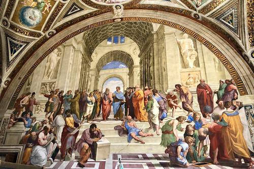 Muurschildering / Palazzo Apostolico / Vaticaanstad