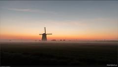 Poldermolen D aanschouwt z'n 140.984e zonsopkomst...