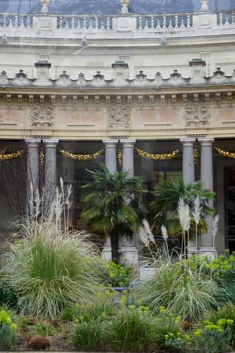 Jardin, cour intérieure, Petit Palais, 1900, avenue Winston Churchill, Paris VIIIe, France.