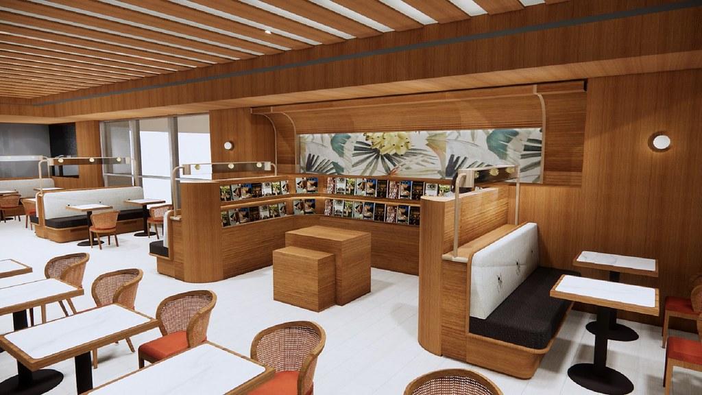 誠品生活新板店今年10月將增設全新黑卡會員專屬空間「eslite premium」。