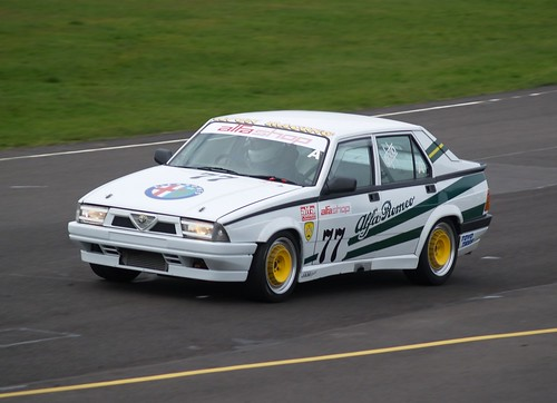 Chris Oxborough supercharged 75 at Combe