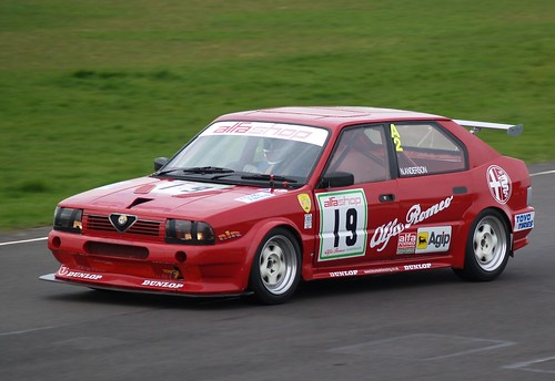 Nick Anderson flying in his Class A2 33 at Combe