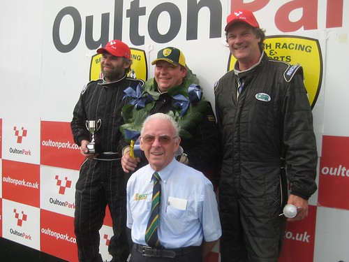 The much missed Tom Dooley with out Oulton podium
