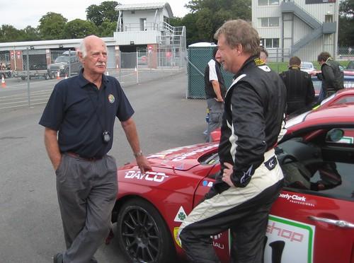 John Sismey and Steve Dymoke at Oulton