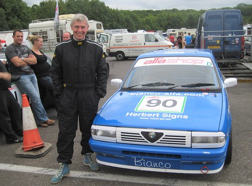 Tony Herbert was a class winner at Brands