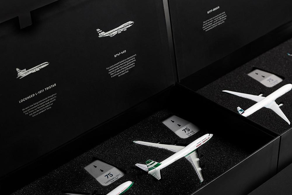 75週年珍藏版飛機模型禮盒套裝-3