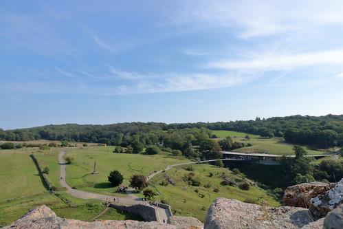 Hammershus view
