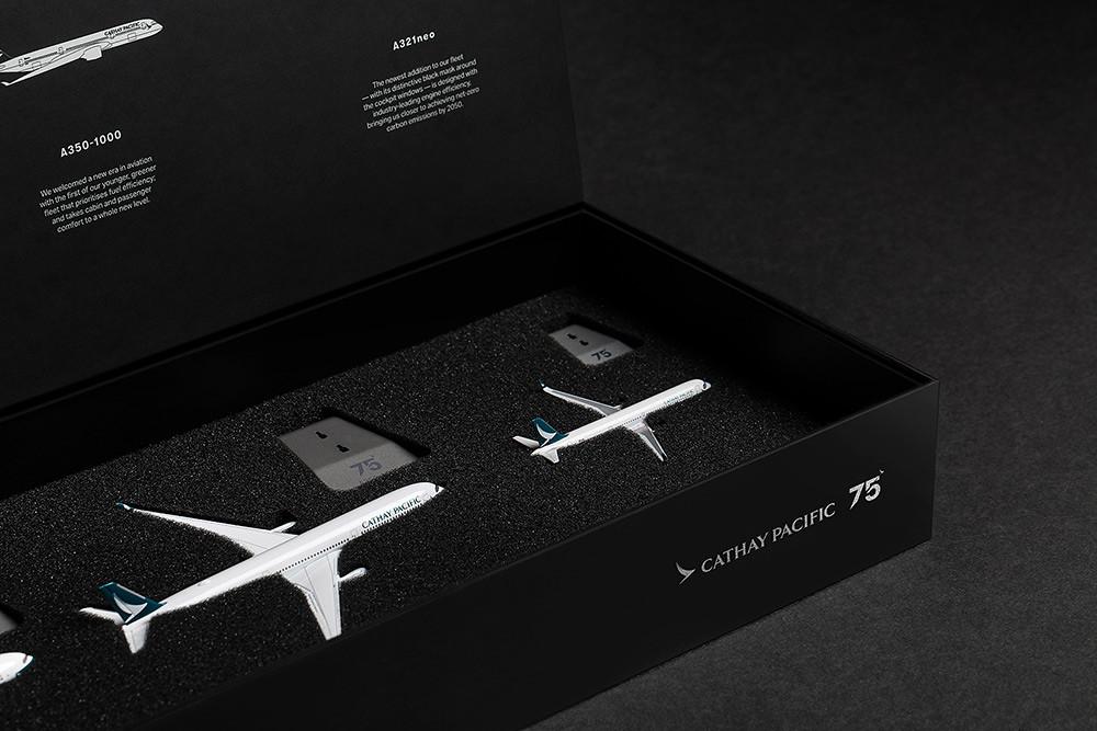 75週年珍藏版飛機模型禮盒套裝-9