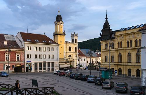 Banská Bystrica: Town centre