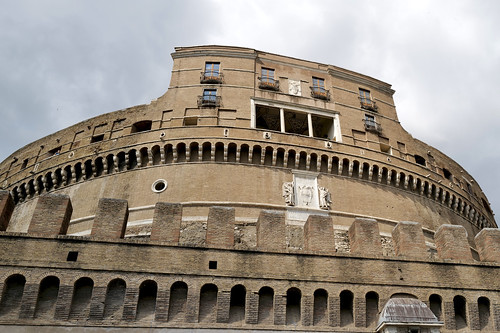Ambulacro di Bonifacio IX / Castel Sant'Angelo / Rome