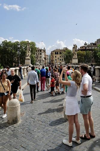 Ponte Sant'Angelo / Rome