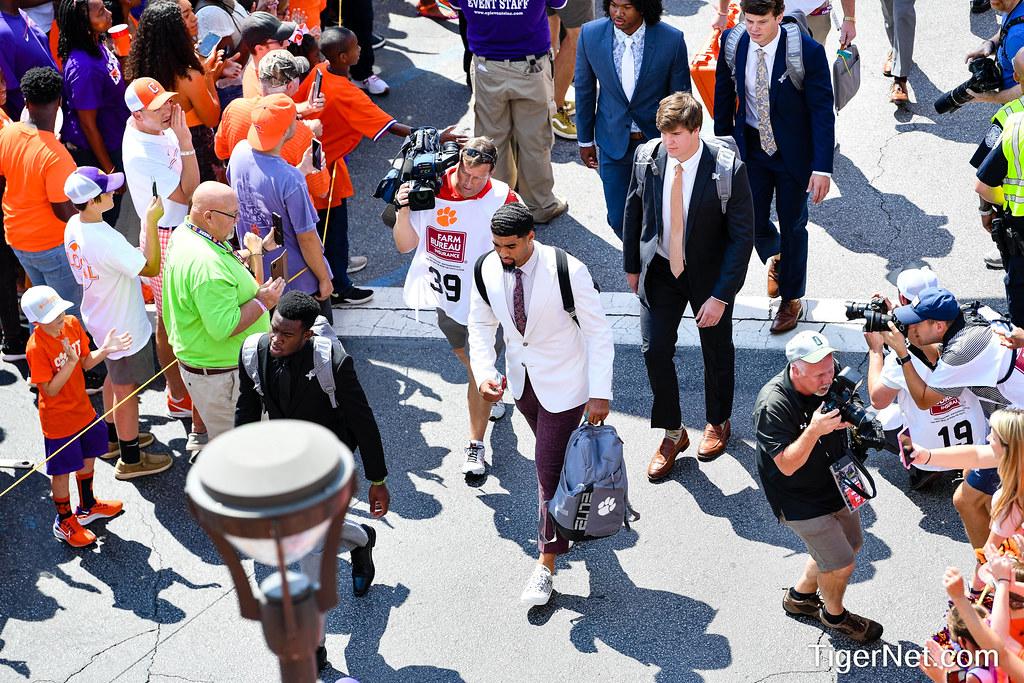 Clemson Photos: D J  Uiagalelei, tigerwalk, 2021, Football, S C  State