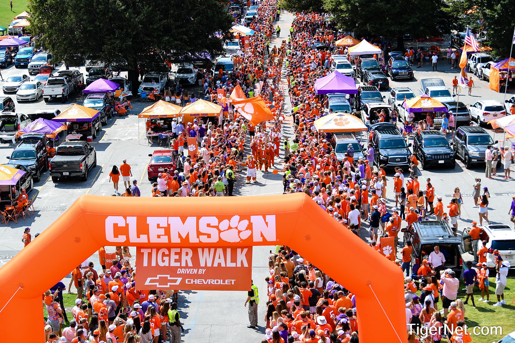 Clemson Photos: tigerwalk, 2021, Football, S C  State